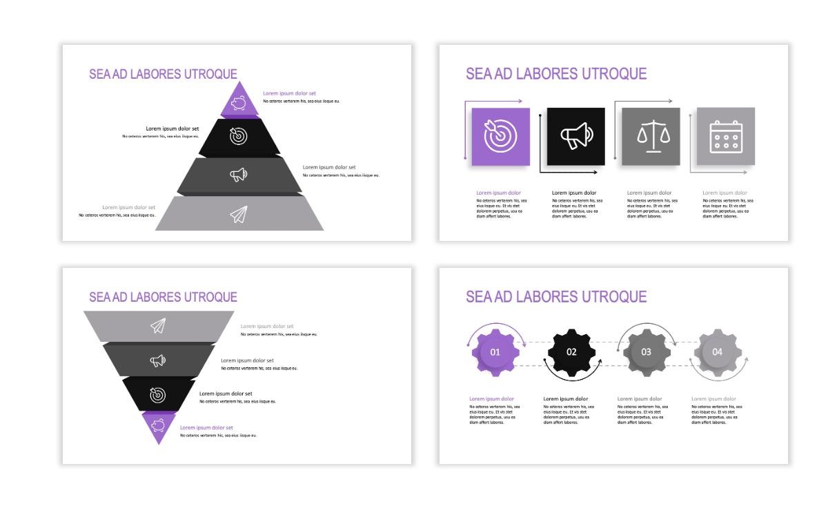 ROME - Travel - Purple - Aesthetic - Clean - Minimal Slide 16
