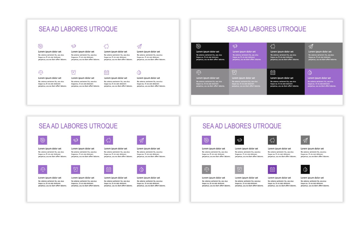 ROME - Travel - Purple - Aesthetic - Clean - Minimal Slide 17