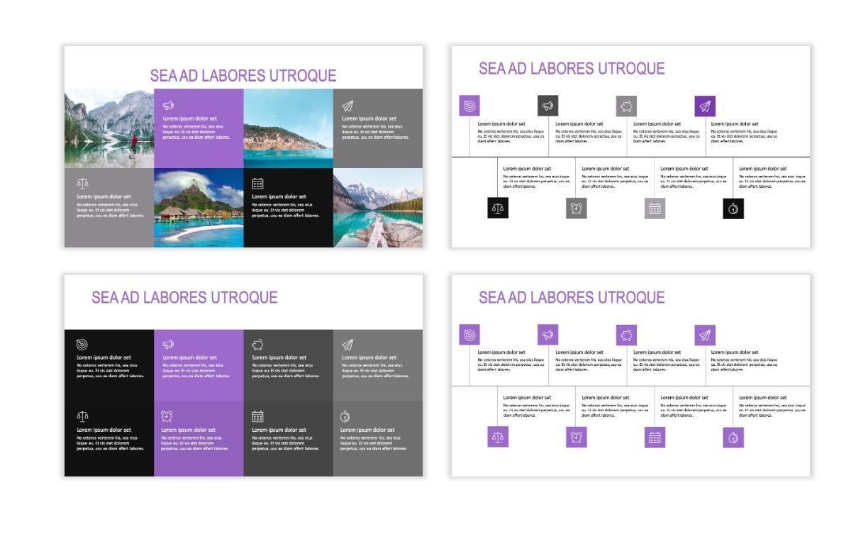 ROME - Travel - Purple - Aesthetic - Clean - Minimal Slide 18