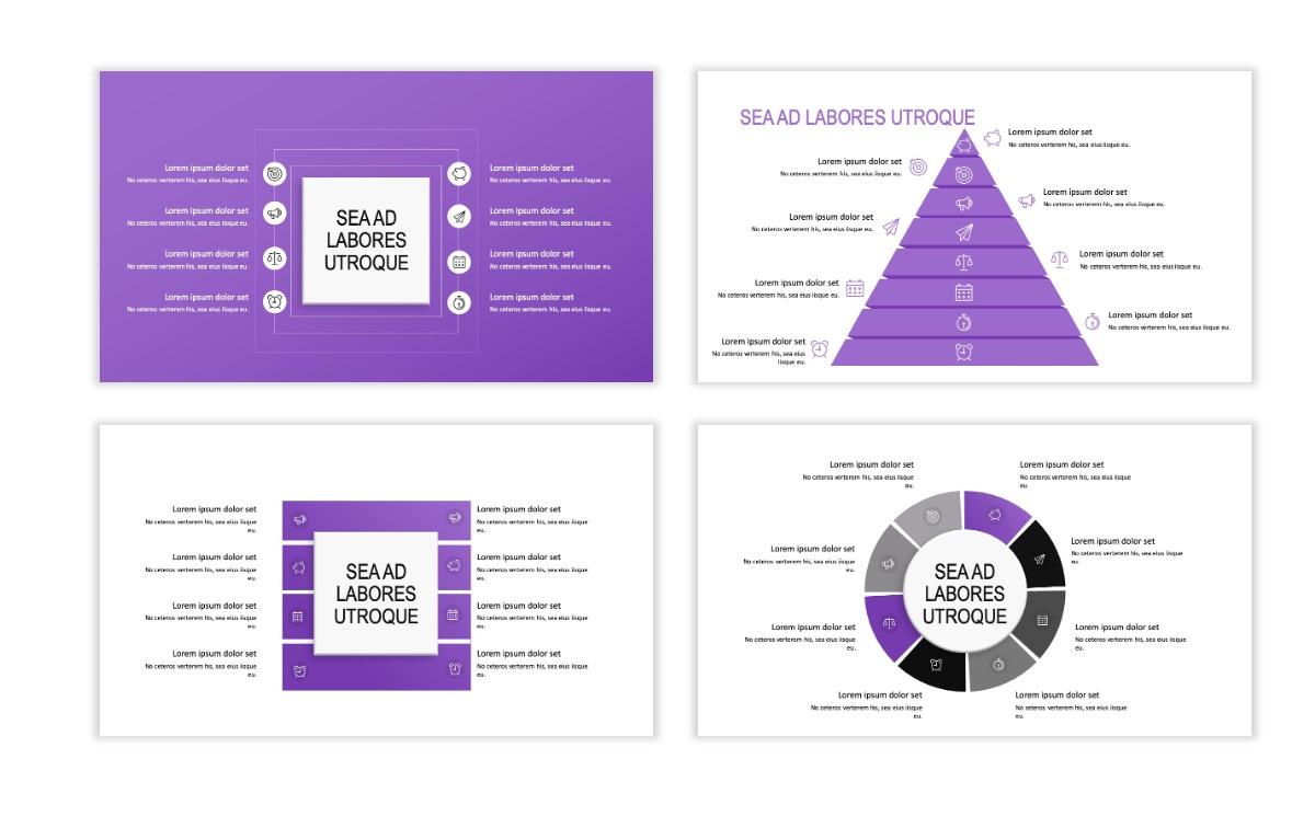ROME - Travel - Purple - Aesthetic - Clean - Minimal Slide 20
