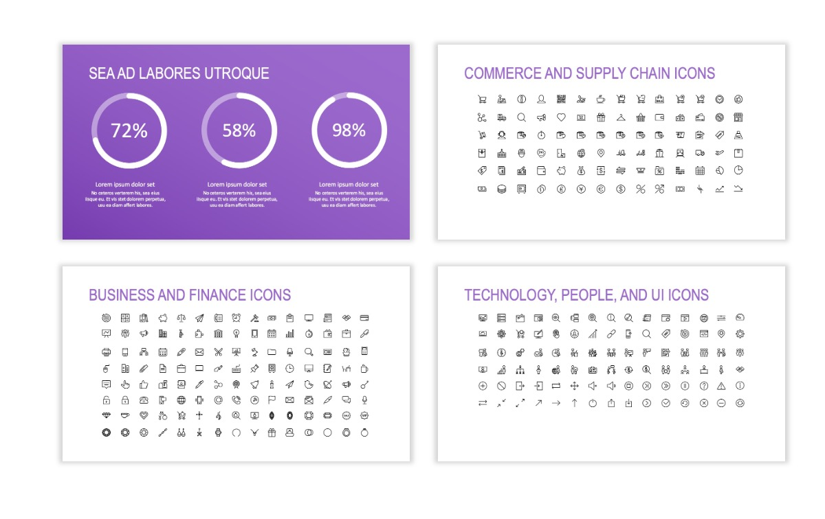 ROME - Travel - Purple - Aesthetic - Clean - Minimal Slide 25