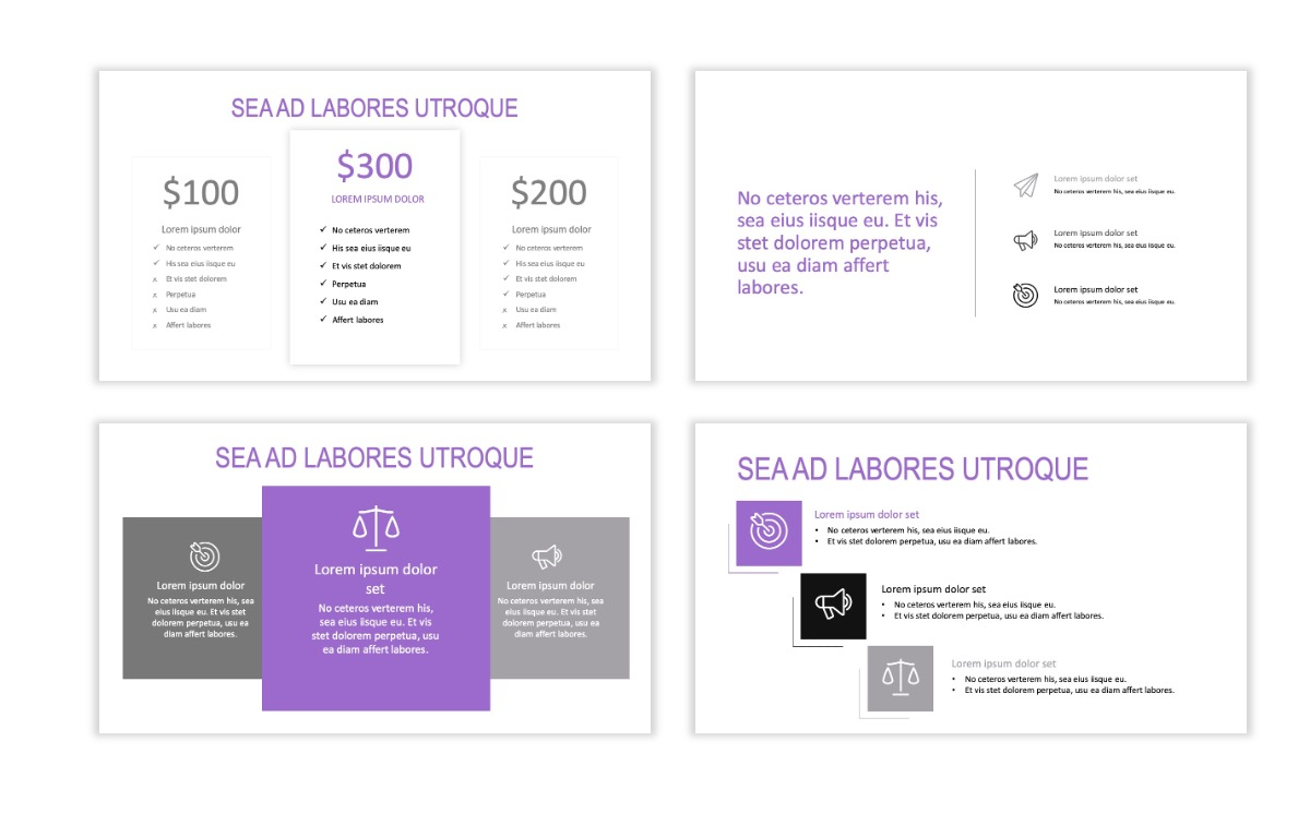 ROME - Travel - Purple - Aesthetic - Clean - Minimal Slide 8