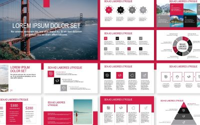 ROME TRAVEL RED FREE POWERPOINT TEMPLATE