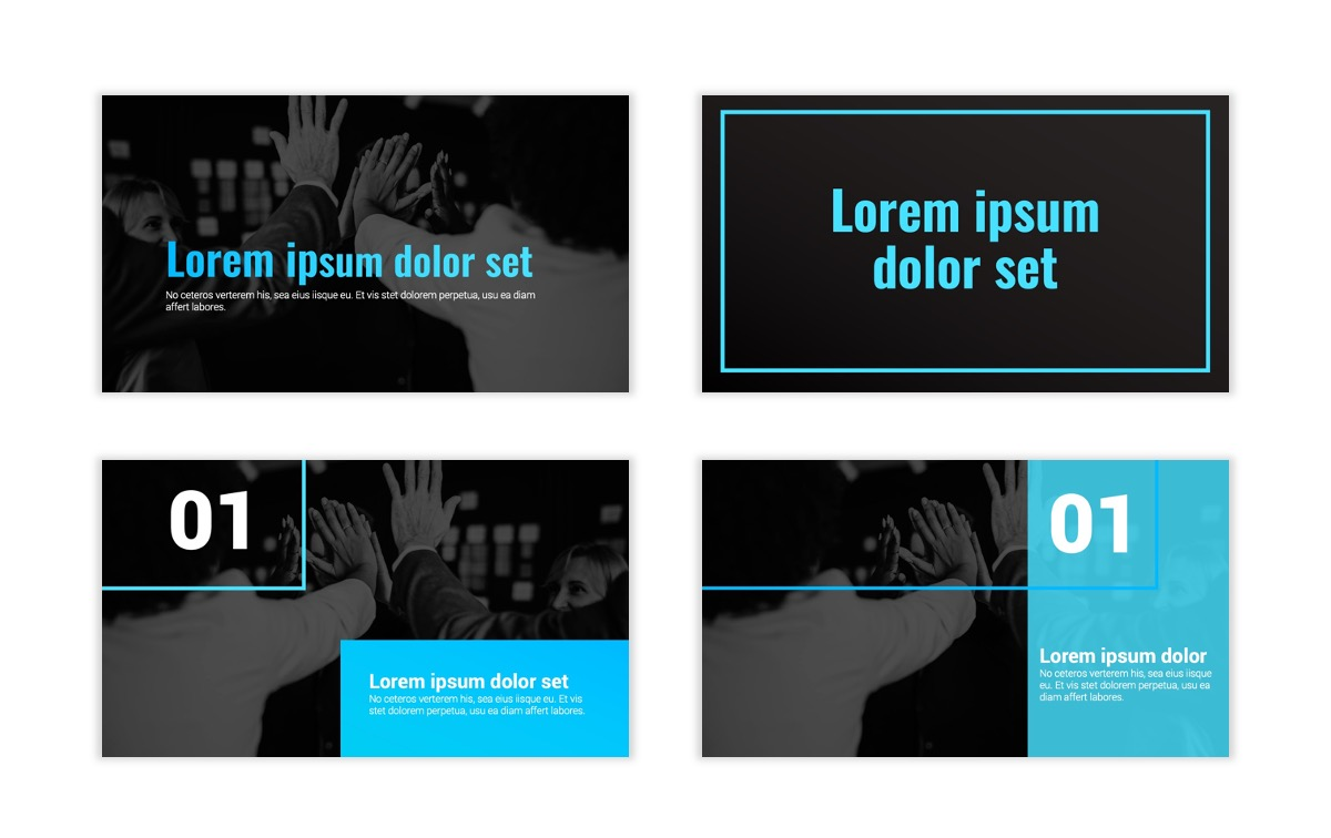 Syndey Blue Free PowerPoint Template Slide1