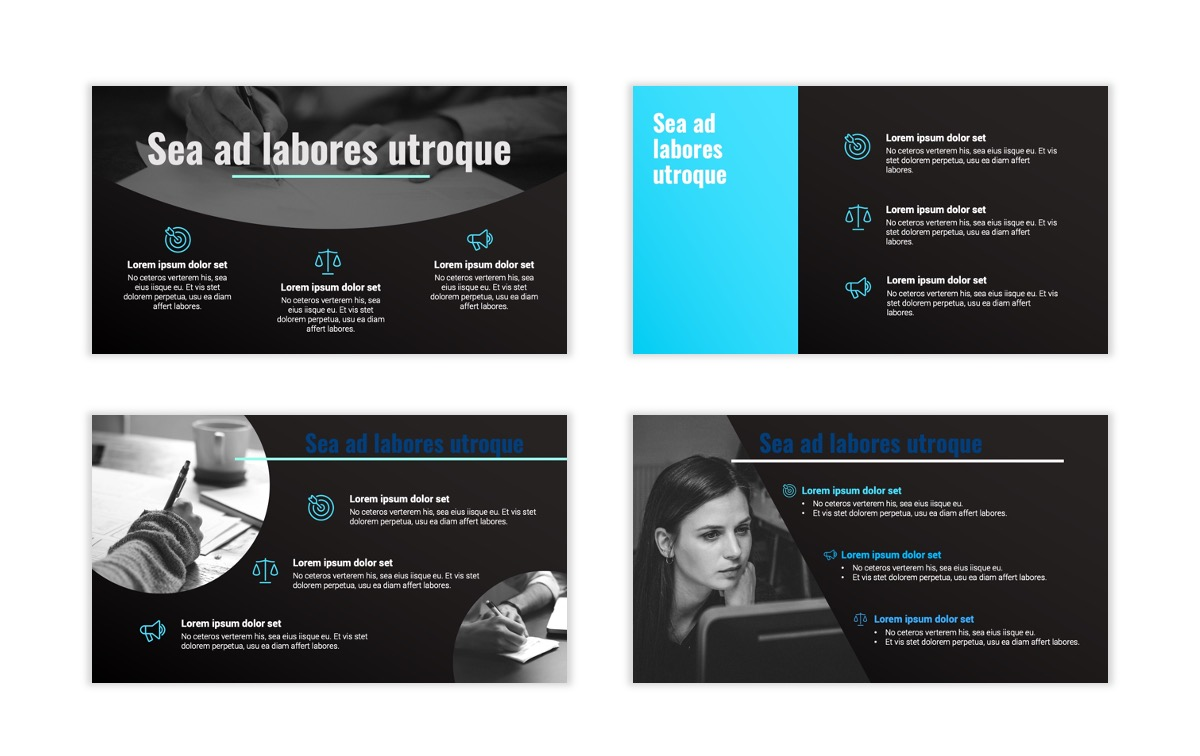 Syndey Blue Free PowerPoint Template Slide10