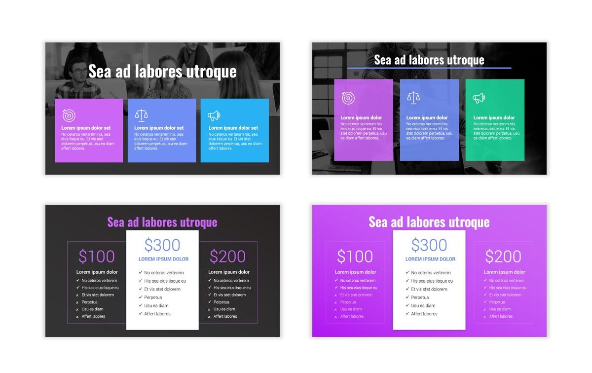 Syndey Purple Free PowerPoint Template Slide11