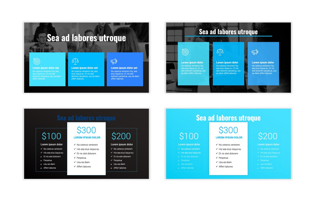 Syndey Blue Free PowerPoint Template Slide11