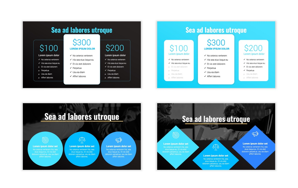 Syndey Blue Free PowerPoint Template Slide12