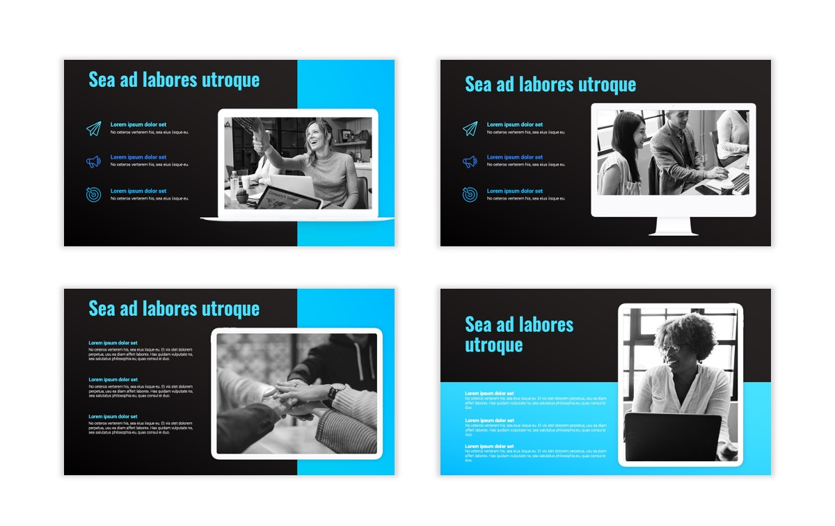 Syndey Blue Free PowerPoint Template Slide14