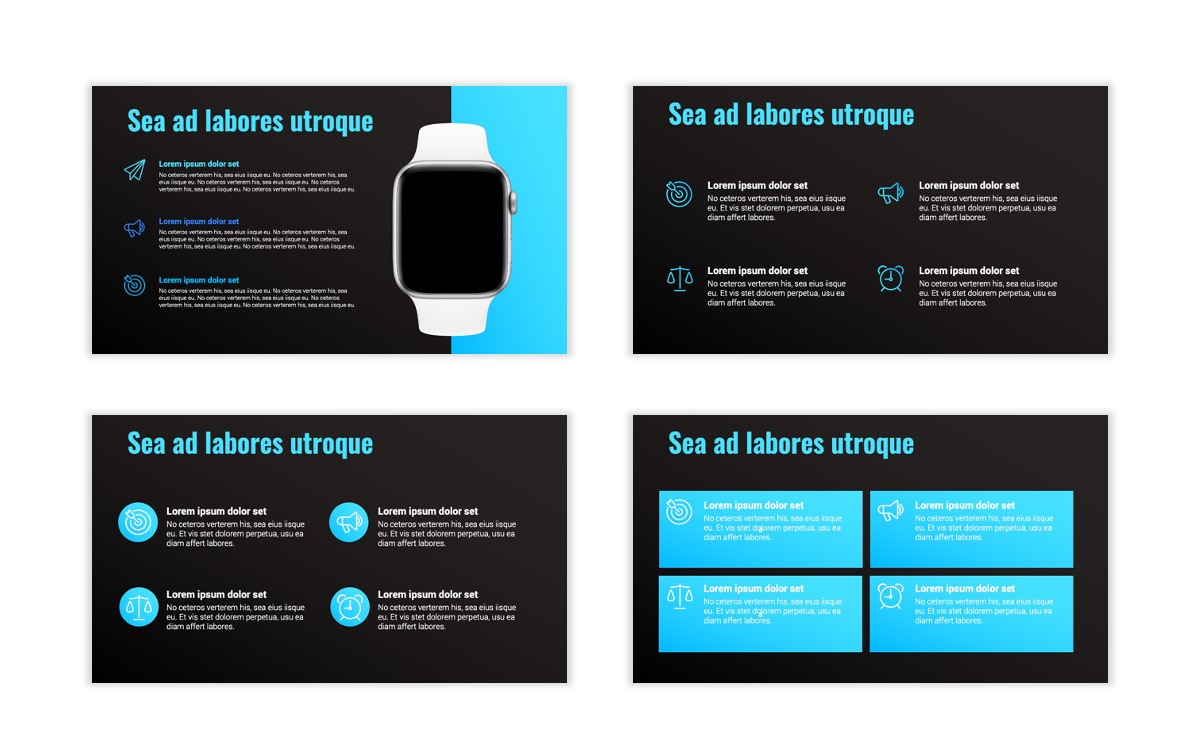 Syndey Blue Free PowerPoint Template Slide15