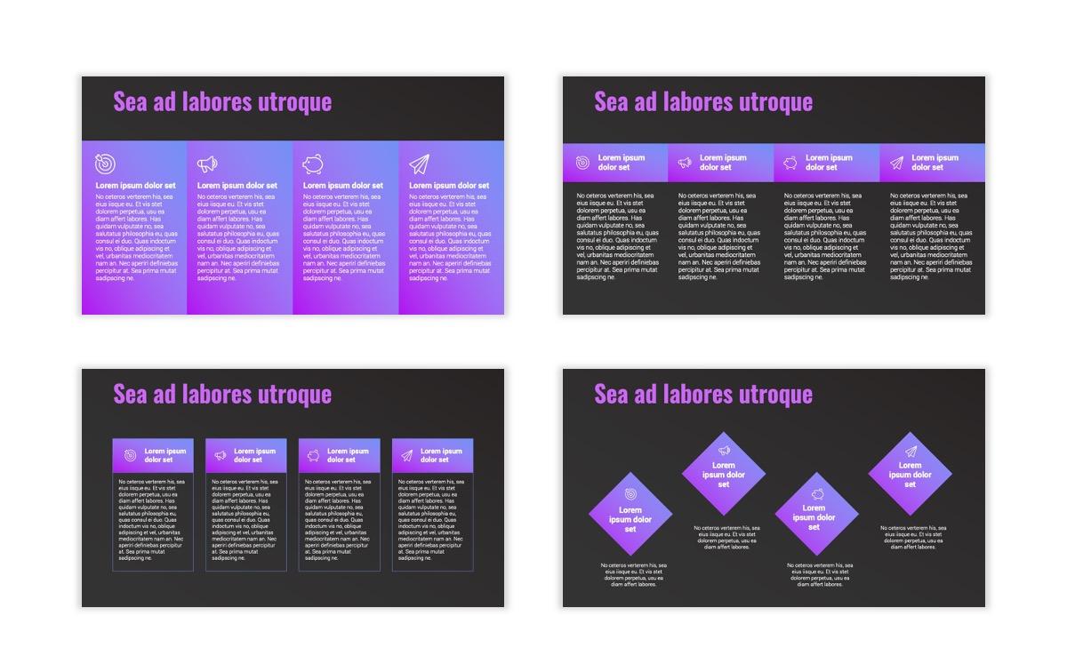 Syndey Purple Free PowerPoint Template Slide17