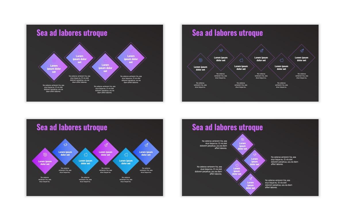 Syndey Purple Free PowerPoint Template Slide19