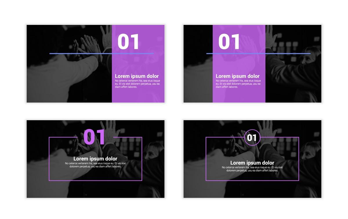 Syndey Purple Free PowerPoint Template Slide2
