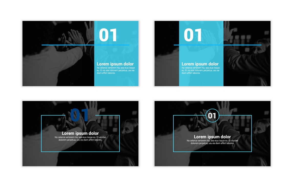 Syndey Blue Free PowerPoint Template Slide2