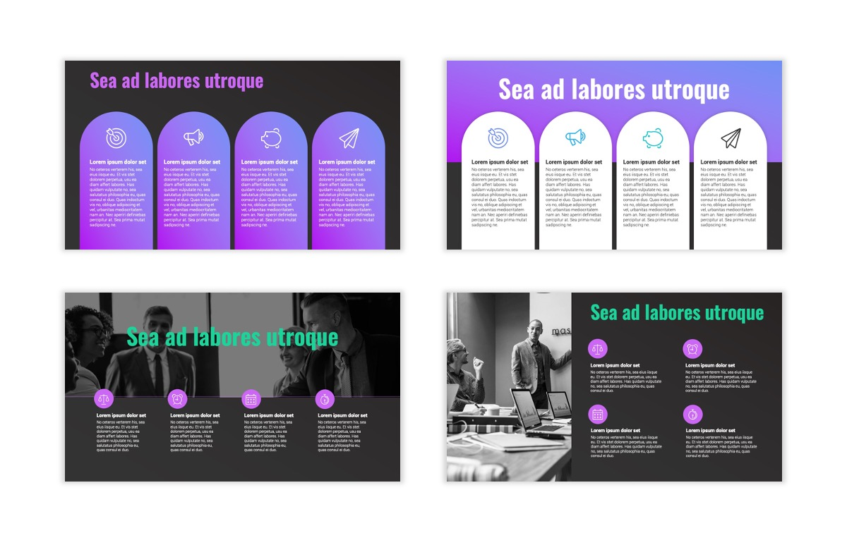Syndey Purple Free PowerPoint Template Slide20