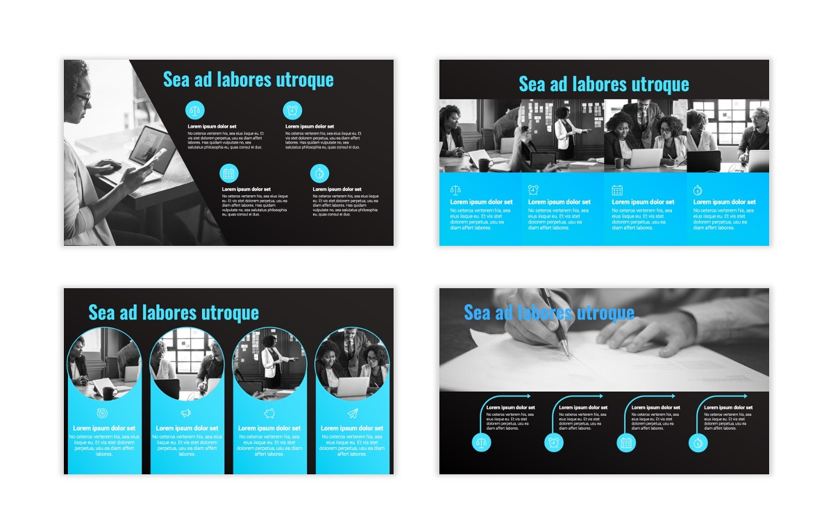 Syndey Blue Free PowerPoint Template Slide20
