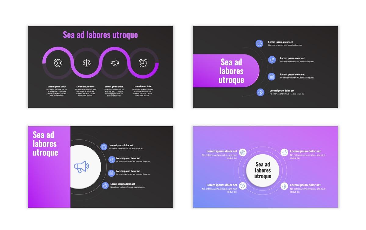 Syndey Purple Free PowerPoint Template Slide21