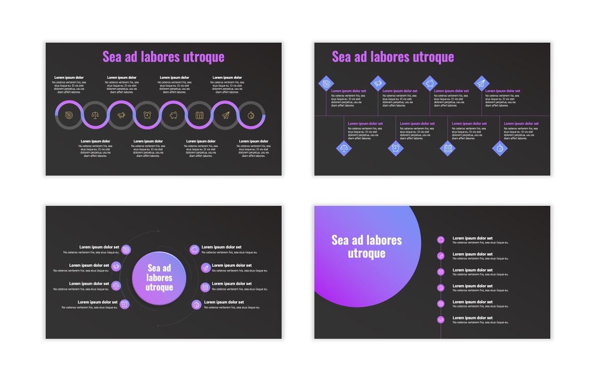 Syndey Purple Free PowerPoint Template Slide25