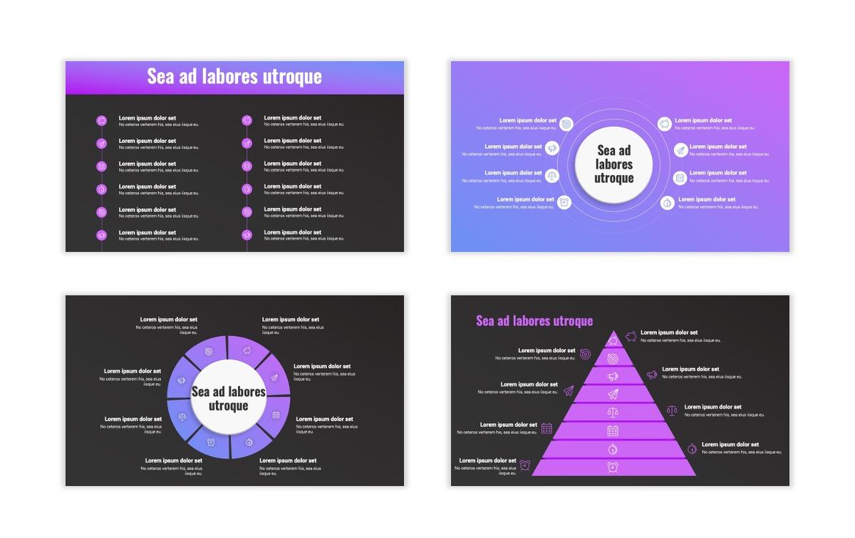 Syndey Purple Free PowerPoint Template Slide26