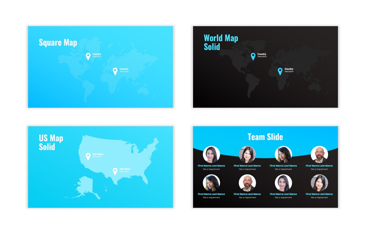 Syndey Blue Free PowerPoint Template Slide28