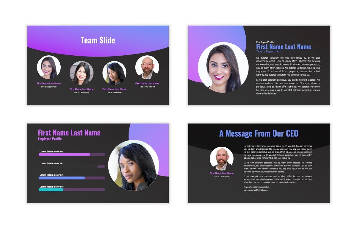Syndey Purple Free PowerPoint Template Slide29