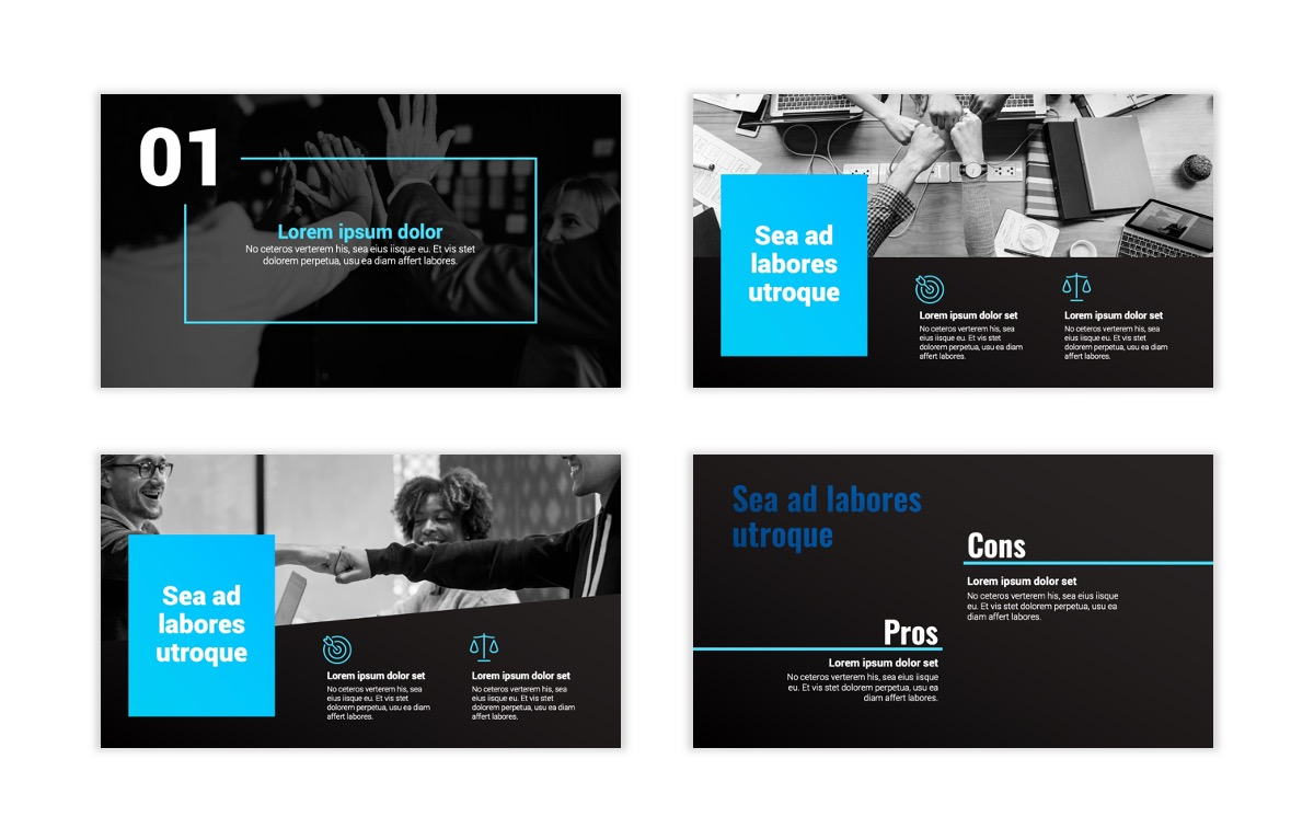 Syndey Blue Free PowerPoint Template Slide3