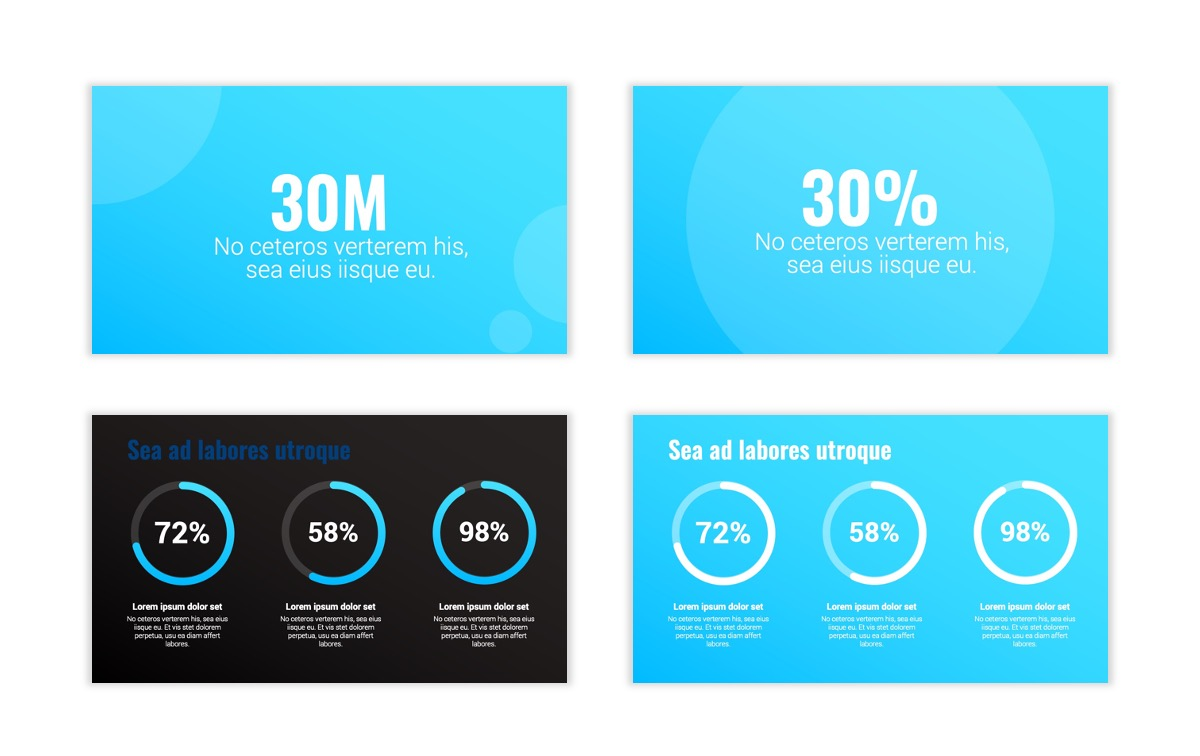 Syndey Blue Free PowerPoint Template