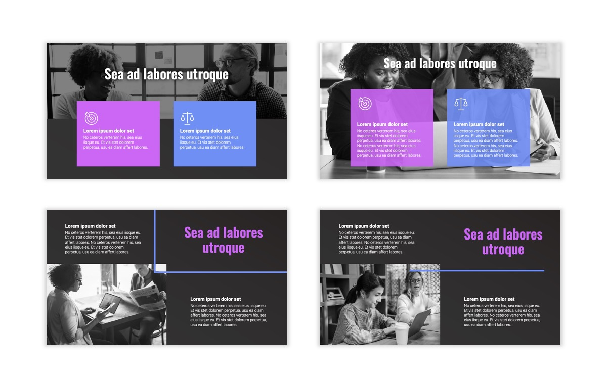 Syndey Purple Free PowerPoint Template Slide4