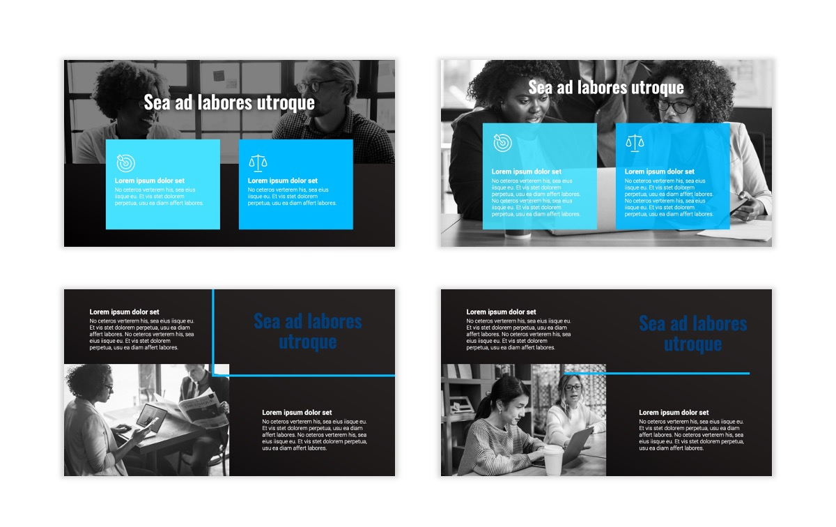 Syndey Blue Free PowerPoint Template Slide4
