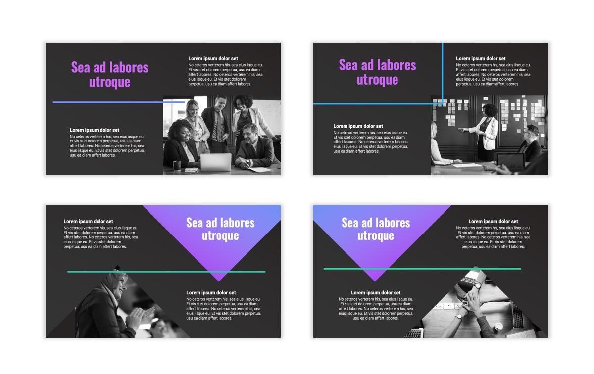 Syndey Purple Free PowerPoint Template Slide5