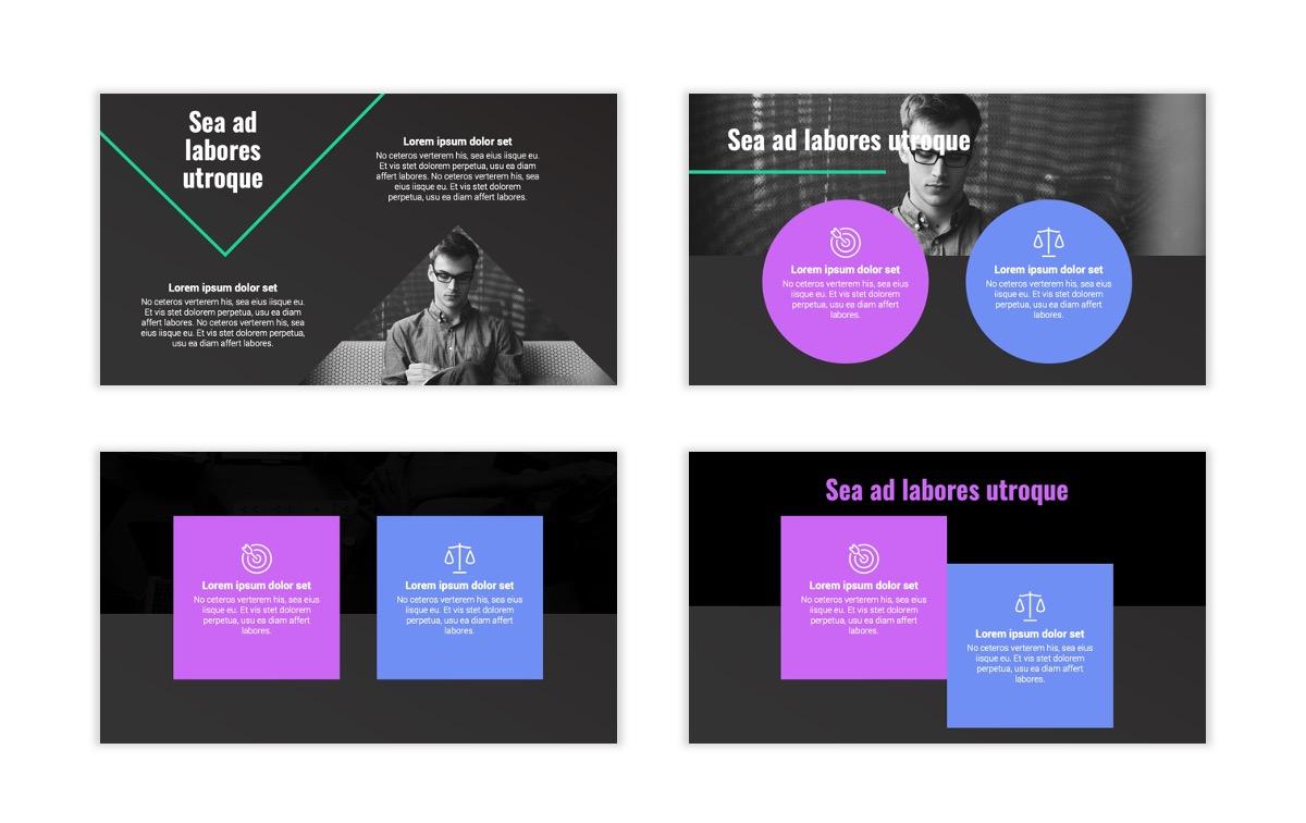 Syndey Purple Free PowerPoint Template Slide6