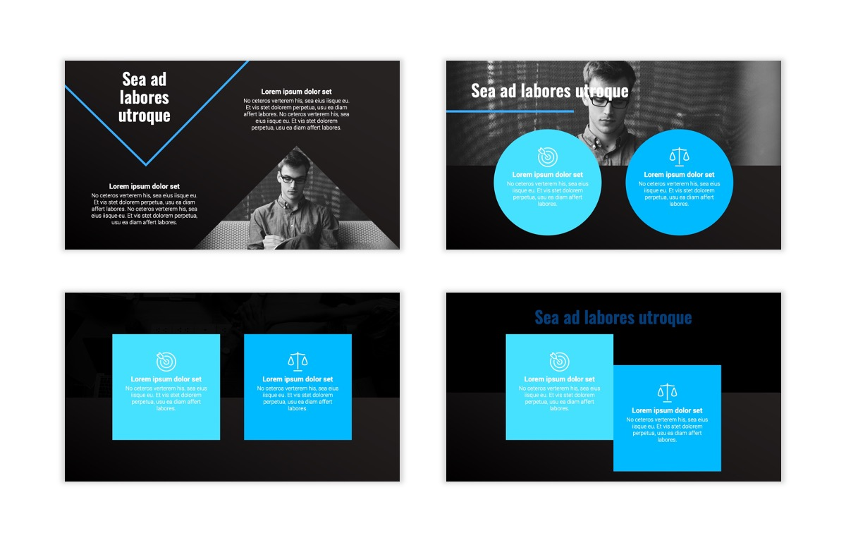 Syndey Blue Free PowerPoint Template Slide6