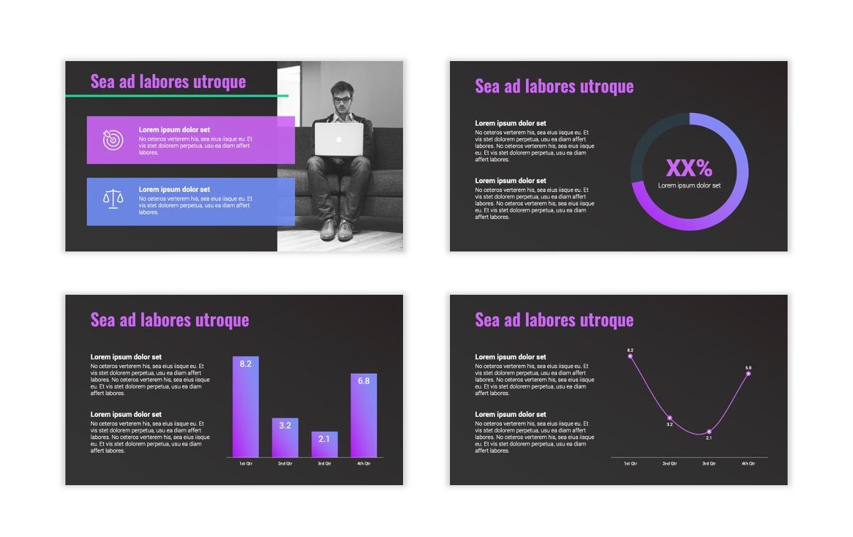 Syndey Purple Free PowerPoint Template Slide7