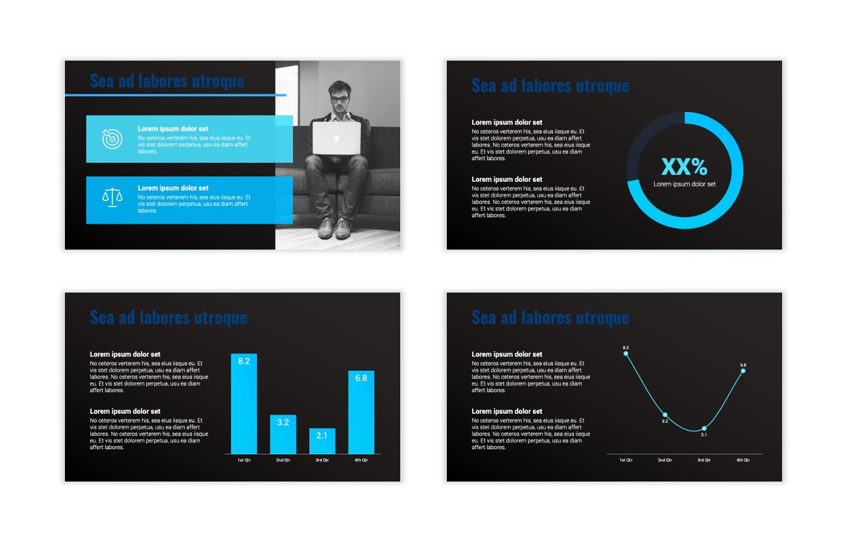 Syndey Blue Free PowerPoint Template Slide7