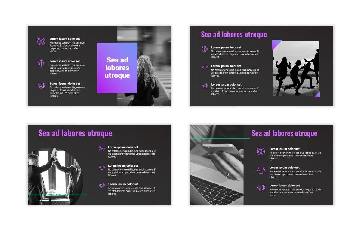 Syndey Purple Free PowerPoint Template Slide8