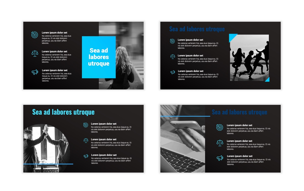 Syndey Blue Free PowerPoint Template Slide8