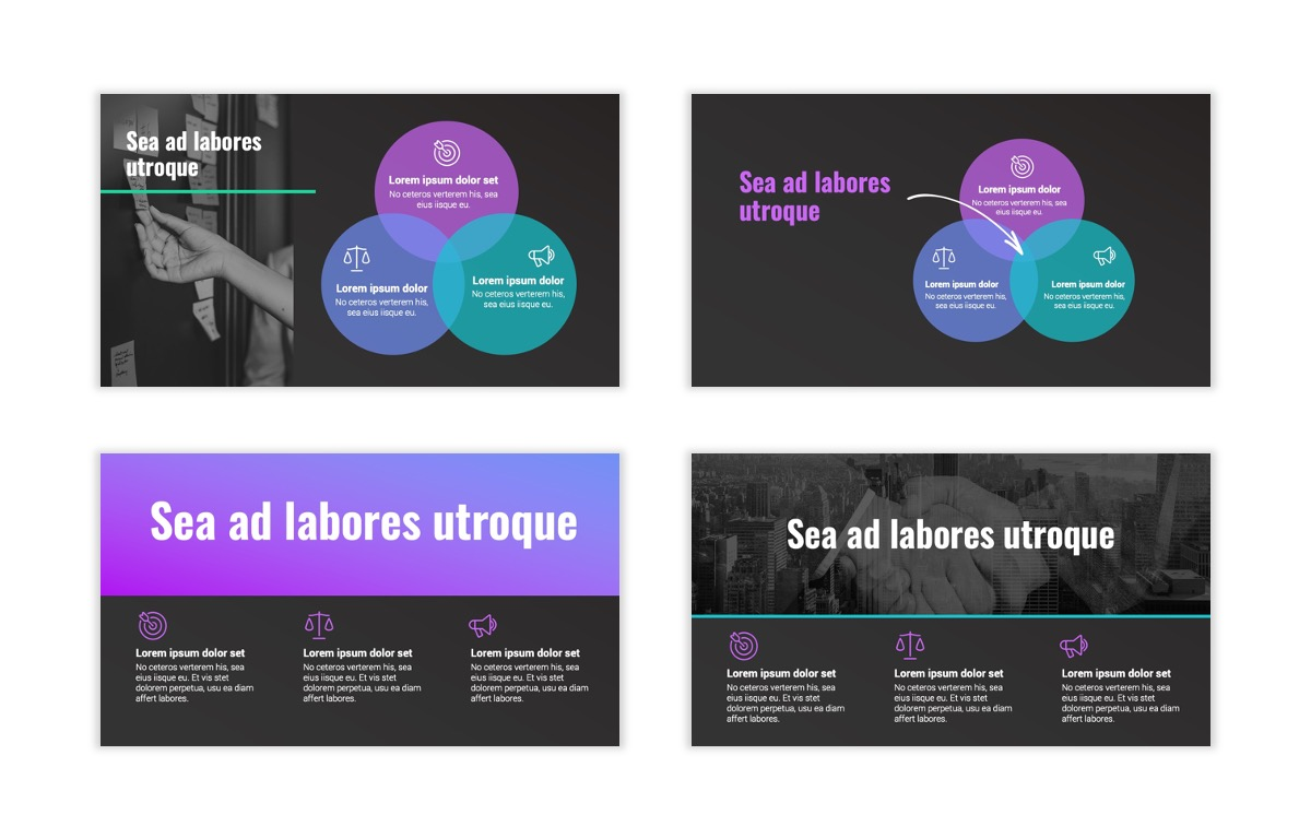 Syndey Purple Free PowerPoint Template Slide9